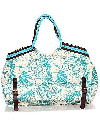 Canvas Bag with Detachable Beach Mat