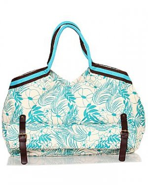 Canvas Bag with Detachable Beach Mat