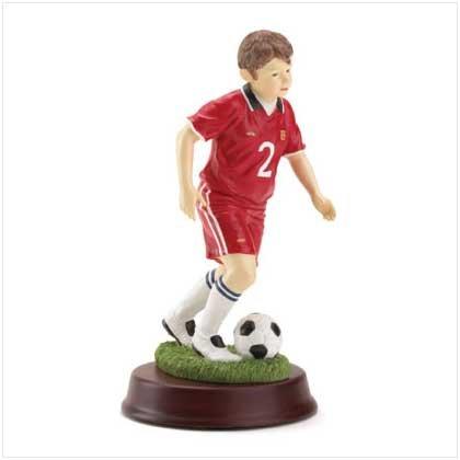 Soccer Boy Figurine
