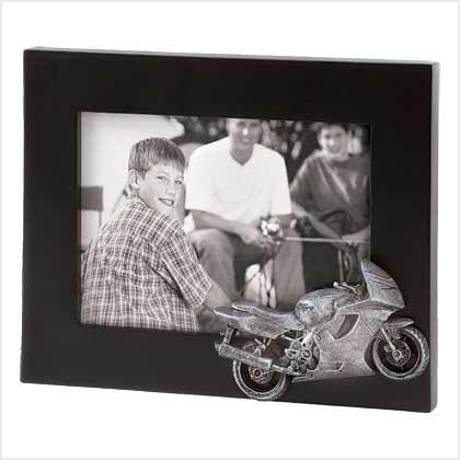 Street Bike Photo Frame