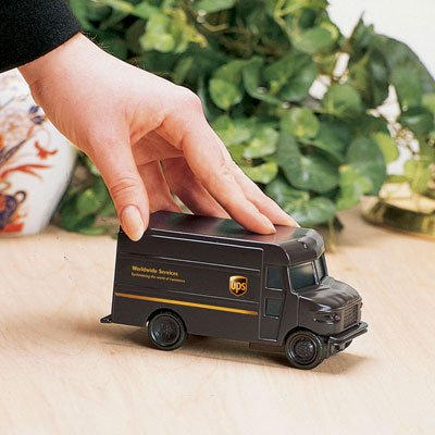 United Parcel Service Friction Powered Package Car