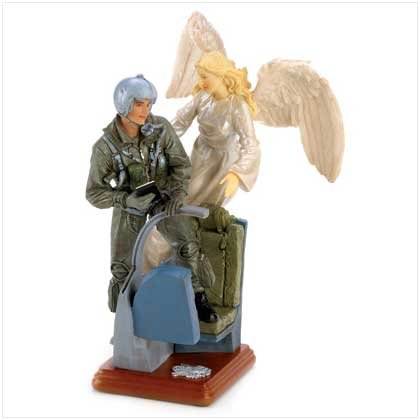 Unseen Guardian Air Force Statue