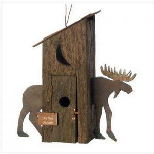 Moose Hut Birdhouse