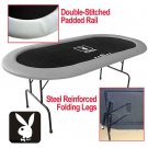 Officially Licensed Playboy® Poker Table - 84 x 42 inch