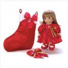 Precious Moments Christmas Doll