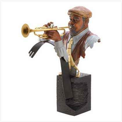 Jazzed Trumpet Master Statue