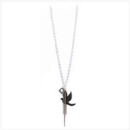 Nikki Chu Love Dove Pendant Necklace