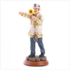 Fire Captain Figurine