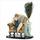 Lady In Chair Figurine
