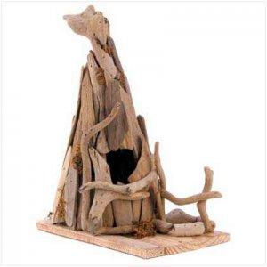 Rustic Teepee Birdhouse