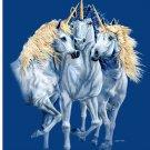 Brand New Unicorn Family Queen Mink blanket
