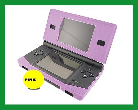 nds nintendo ds lite silicone case skin cover pink brand new. Black Bedroom Furniture Sets. Home Design Ideas