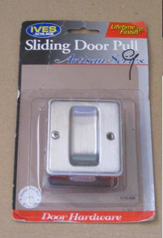 Ives Schlage : Sliding Door Pull Satin Nickel - Brand New