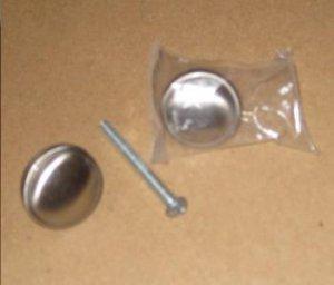 Knobs : Satin Nickel Kitchen / Bath Cabinet Knob Pulls (10pcs) - Brand New