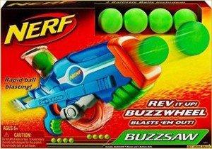 Nerf Buzzsaw Blaster Rev it up Buzzwheel - Brand New