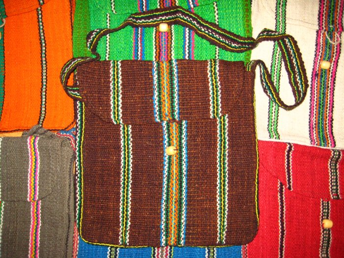 bag from Cuzco , inca design