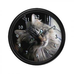 Cute Cat Clock