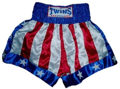 Twins Muay Thai boxing shorts American Flag Medium