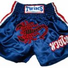 Twins Muay Thai boxing shorts red scorpion Medium TBS52