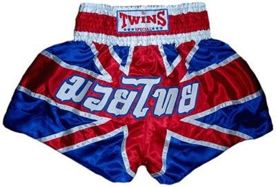 Twins Muay Thai boxing shorts Union Jack Large TBS-99