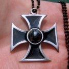 Lot of 12 German Iron Cross military medal WW2 valor biker pewter pendants nt-b