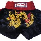 Twins Muay Thai boxing shorts dragon XL new TBS-65