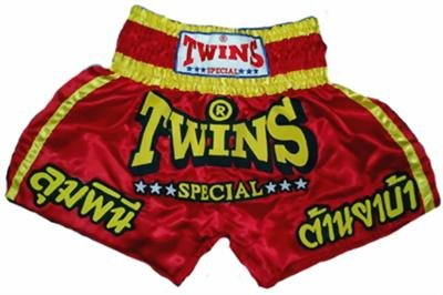 Twins Muay Thai boxing shorts logo new XL TBS-100