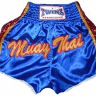 Twins Muay Thai boxing shorts blue new Medium TBS-193