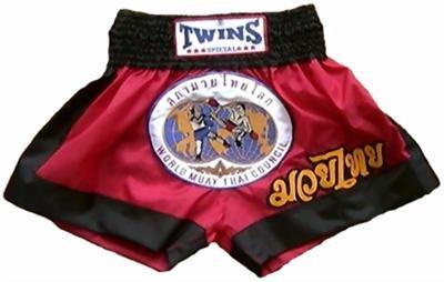 Twins Muay Thai boxing shorts Wld. Council Medium TBS91