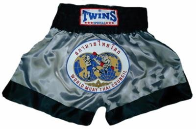 Twins Muay Thai boxing shorts Wld. Council Large TBS90