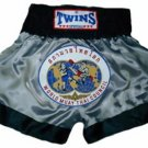 Twins Muay Thai boxing shorts Wld. Council Medium TBS90