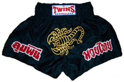 Twins Muay Thai boxing shorts scorpion Large TBS-51