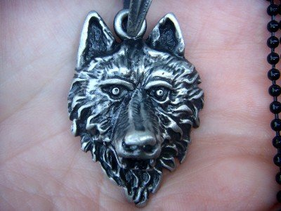 Wholesale lot 12 wolf lycanthropy occult pendants new