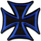 German Iron Cross military medal WW2 valor war biker iron-on applique patch S-87