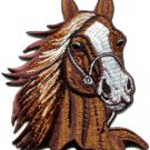 Horse colt bronco filly mustang pony stallion steed applique iron-on patch S-352
