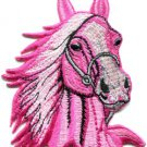 Horse colt bronco filly mustang pony stallion steed applique iron-on patch S-354