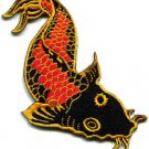 Japanese koi carp fish applique iron-on patch S-287
