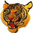 Tiger cat puma jaguar lion cheetah animal wildlife applique iron-on patch S-238