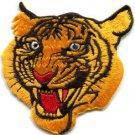 Tiger cat puma jaguar lion cheetah animal wildlife applique iron-on patch S-238