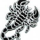 Scorpion tattoo Muay Thai applique iron-on patch S-235