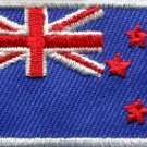 Flag of New Zealand kiwi maori blue ensign applique iron-on patch Medium S-384