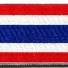 Flag of Thailand Thai applique iron-on patch S-106