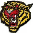 Tiger cat puma jaguar lion cheetah animal wildlife applique iron-on patch S-301