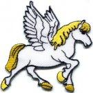 Pegasus fantasy horse unicorn greek medusa poseiden applique iron-on patch S-297