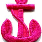 Anchor tattoo navy biker retro ship boat sea sew applique iron-on patch S-473