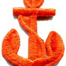 Anchor tattoo navy biker retro ship boat sea sew applique iron-on patch S-475