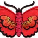 Butterfly insect boho hippie retro love peace applique iron-on patch S-462