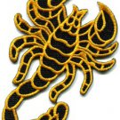 Scorpion tattoo Muay Thai applique iron-on patch S-232
