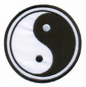 Yin Yang tao taoism mystical ying applique iron-on patch S-92
