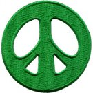 Peace sign hippie retro boho love weed applique iron-on patch S-22